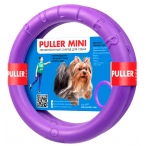 PULLER Mini тренировочный снаряд для собак и щенков весом 5-10 кг, 2 кольца, 18 см