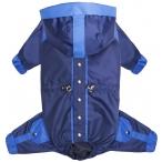 """Tappi комбинезон """"Свитч"""" для собак, синий/голубой, размер L (длина 30 см)"""
