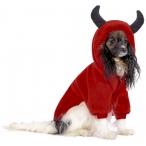 """Tappi толстовка """"Блади"""" для собак, красный, размер L (длина 30 см)"""
