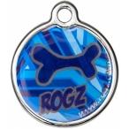 "Rogz адресник металлический, ""Морской"", размер S, диаметр 20 мм"