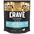 Корм Crave сухой корм для кошек, с лососем и белой рыбой, 750 г