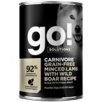 Корм Go! Carnivore Grain Free Minced Lamb & Wild Boar (консерв.) для собак, беззерновой,с рубленым мясом ягненка и дикого кабана, 400 г