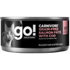 Корм Go! Carnivore Grain Free Salmon Pate & Cod (консерв.) для кошек, беззерновой, с лососем и треской, 100 г