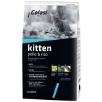 Корм Golosi Kitten Pollo & Riso для котят, с курицей и рисом, 400 г
