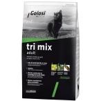 Корм Golosi Tri Mix Adult для кошек, с курицей, говядиной и рисом, 400 г
