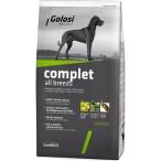 Корм Golosi Complet All Breeds для собак всех пород, с курицей, говядиной, рыбой и рисом, 12 кг