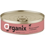 Корм Organix (консерв.) для котят, мясное ассорти с телятиной, 100 г