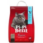 Наполнитель Pi-Pi-Bent Классик для кошек, комкующийся, 24 л, 10 кг