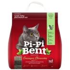 Наполнитель Pi-Pi-Bent Сенсация свежести для кошек, комкующийся, 12 л, 5 кг