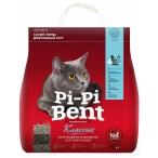 Наполнитель Pi-Pi-Bent Классик для кошек, комкующийся, 12 л, 5 кг