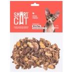 Лакомство Smart Cat для кошек, легкое говяжье, 30 г