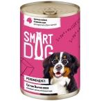 Корм Smart Dog консервы для собак и щенков всех пород, кусочки ягненка в соусе, 850 г
