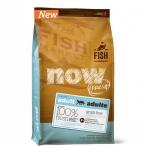 Корм NOW FRESH Grain Free Fish Recipe for Adult Cats Беззерновой для Взрослых Кошек с Форелью и Лососем для чувств. пищеварения 30/19, 1.82 кг