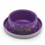 Moderna Нескользящая миска с защитой от муравьев Trendy - Друзья навсегда, фиолетовая, 350 мл, 0,091 кг