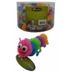 "Papillon Игрушка для кошек ""Гусеница"", латекс, 6,5см (Caterpillar) 240040, 0,015 кг"