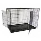 Papillon Клетка металлическая с 2 дверками, 118*78*85 см, черная (Wire cage black 2 doors) 151218, 23,5 кг