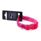 Papillon Нейлоновый ошейник 10мм-20-30см, розовый (Adjustable nylon collar, 10 mm x 20 - 30 cm, colour pink) 170205, 0,016 кг