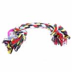 """Papillon Игрушка для собак """"Веревка с 2 узлами"""", хлопок, 23см (Flossy toy 2 knots) 140741, 0,05 кг"""