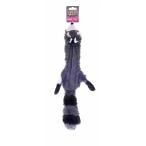 "Papillon Игрушка для собак ""Енот"", плюш, 50см (Plush raccoon with squeak) 140072, 0,02 кг"