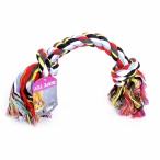 """Papillon Игрушка для собак """"Веревка с 2 узлами"""", хлопок, 50см (Flossy toy 2 knots) 140745, 0,39 кг"""