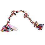 """Papillon Игрушка для собак """"Веревка с 4 узлами"""", хлопок, 60см (Flossy toy 4 knots) 140746, 0,26 кг"""