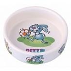 Dezzie Миска керамическая для грызунов, 110мл, 8,5*3см (5637001), 0,1 кг