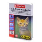 Beaphar Ошейник SOS от блох и клещей для Котят с 2 месяцев (Flea&Tick Collar) 12517, 0,045 кг