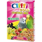 Cliffi Коктейль для Волнистых попугаев: зерна, злаки, фрукты, овощи (Cocktail Mix Pappagallini) PCOA007, 300 г