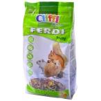 Cliffi Корм для хомяков, мышей, белок и песчанок с фруктами, грецкими орехами и морковью (Ferdi Fruity SELECTION) PCRA040, 700 г