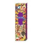 Cliffi Лакомства для Длиннохвостых попугаев: Палочки с фруктами и медом (Sticks parakeets with tropical fruit and honey) PCOA422, 0,15 кг