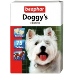 Beaphar Витамины для собак с биотином (Doggy`s+Biotin), 75шт. (12507), 0,072 кг