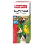 Beaphar Витамины во время линьки д/кошек, собак, птиц и грызунов (Vit Total) 12620, 0,14 кг