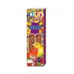 Cliffi Лакомства для Канареек: палочки с лесными ягодами и медом (Sticks Canaries with wildberries and honey) PCOA410, 0,06 кг