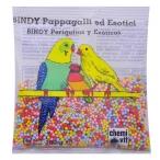 Cliffi Лакомства для Попугаев и Экзотических птиц: медовые зерна с минер.солями (Bindy Pappagallini&Esotici) PCOA405, 0,1 кг
