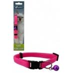 """Papillon Ошейник для кошек """"Сэсси"""" 10мм-21-33см, розовый (Adjustable cat collar 10 mm x 21 - 33 cm, Sassy cat colour pink) 270115, 0,016 кг"""
