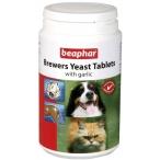 Beaphar Витамины д/собак и кошек с пивными дрожжами и чесноком, 250шт. (Brewers Yeast&Garlic) 12664, 0,23 кг