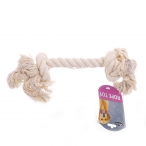 """Papillon Игрушка для собак """"Канат с 2 узлами"""", хлопок, 38см (Cotton flossy toy 2 knots) 140773, 0,18 кг"""
