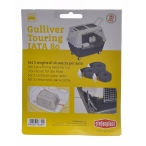 Stefanplast Автомобильные ремни безопасности для переноски Gulliver Touring (3шт), 0,1 кг