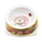 Dezzie Миска розовая для кошек, 150мл, 12,5*12,5*4,5см, пластик (5619003), 0,05 кг
