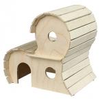 Yami-Yami Домик для грызунов деревянный 2-х этажный (8552), 0,27 кг