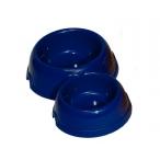 Yami-Yami Двойная круглая миска для кошек пластиковая, 150 и 250мл (2311), 0,104 кг