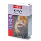 Beaphar Витамины д/кошек с таурином и биотином, сердечки (Kitty's Taurine + Biotin), 180шт. (12578), 0,151 кг