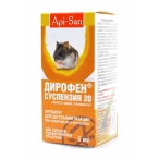Апи-Сан Дирофен От глистов для грызунов: суспензия (тыкв.масло), 0,005 кг