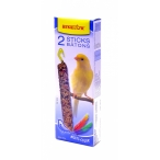 "Benelux Лакомые палочки для канареек ""Красивые перышки"" (Seedsticks canary Multi-Color x 2 pcs) 16216, 0,11 кг"