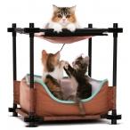 "Kitty City Лежак для кошек: Барские покои ""Cozy Bed"": 44*45*45см (pl0311), 1,38 кг"