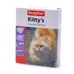 Beaphar Витамины д/кошек с таурином и биотином, сердечки (Kitty's Taurine + Biotin), 75шт. (12509), 0,072 кг