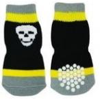 Dezzie Носочки черно-желтые, M 3*7,5см (5625322), 0,01 кг