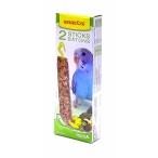 Benelux Палочки для волнистых попугайчиков с тропическими фруктами (Seedsticks budgies Tropical fruit x 2 pcs) 16245, 0,11 кг