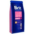Корм Brit Premium для щенков крупных пород: 4-24мес. (Junior L) 132359, 18 кг