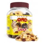 Little One Фруктовая смесь - лакомство для всех видов грызунов, 0,2 кг